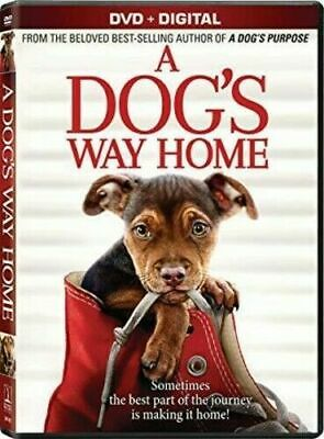 A DOG'S WAY HOME DVD + DIGITAL Movie Brand New & Sealed USA FREE SHIPPING