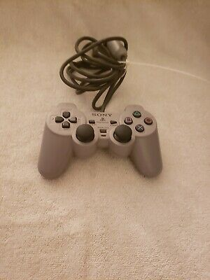 Sony DualShock PS1 PLAYSTATION 1 CONTROLLER JOYSTICK WORKING