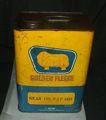 Golden Fleece Ram QT Oil Tin, 1 gallon