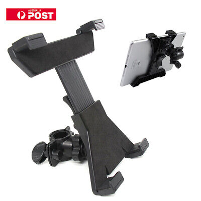 "7""-11"" Tablet iPad Holder for Microphone Stand Bicycle Mount CA039 Universal NEW"