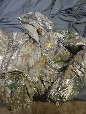 b5cb11ca594c5 Redhead Silent Hide Realtree Hooded Insulated Mens Jacket Men's 3XL.