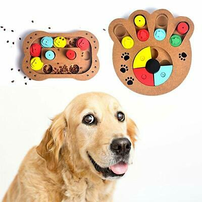 Slow Food Bowl Dog Toy Brain Game Cat Puzzle Feeder Treat Puzzle Games for Pets