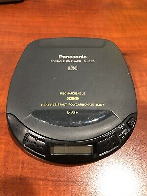 ~~Excellent~~ Panasonic Portable CD Player SL-S125 Made in Japan ~Fully Working~