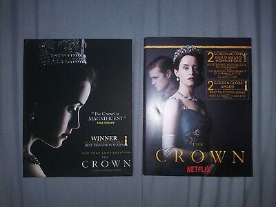 The Crown Complete Season 1 & 2 Dvd Netflix 2017 2018 For Your Consideration Fyc