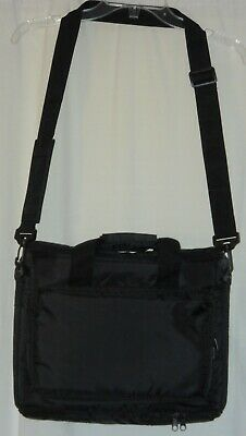 f412c2520 Black Padded Laptop Projector Bag Fits 15in-17in Laptop NICE & NEW Ships  FREE!