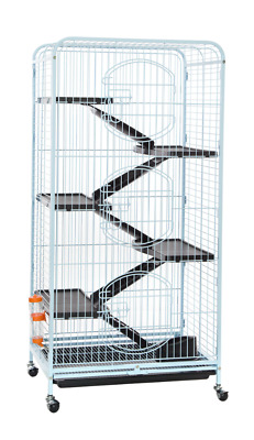 Ferret Cage Rat Rabbit Hutch 6 Level Pet House Somerzby Lucy