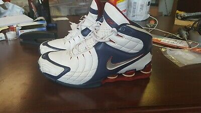 detailed pictures 5b7ac 6035d Nike Shox VC V 2005 Vince Carter USA Olympic Midnight Navy 312764 111 sz 9.5