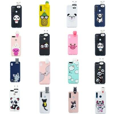 3D Cute Cartoon Soft Silicone Cover Case For Huawei Honor 10 Lite Y6 Y7 Y9 2019