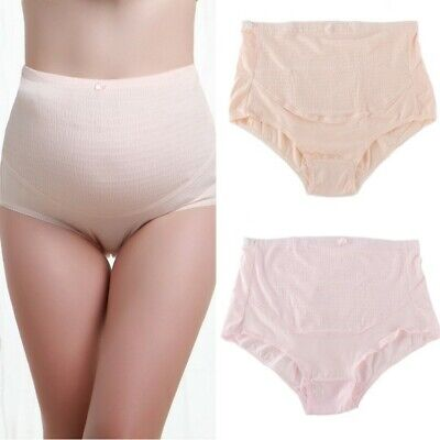 UK Pregnant Women Maternity Soft Brief Knickers Tummy Over Bump Support Panties
