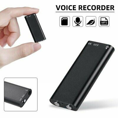 Mini Hidden  Digital Voice Activated Recorder Audio MP3 Recording Device 8G