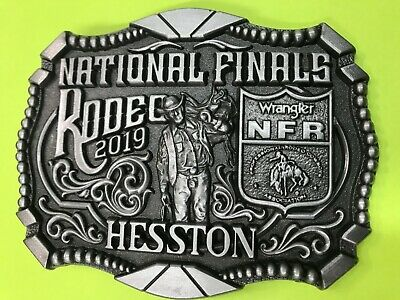 NEW 2019 Hesston National Finals Rodeo Belt Bluckle (Adult size)