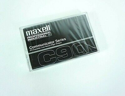 Maxwell professional industrial communicator series C90 cassette low noise VTG