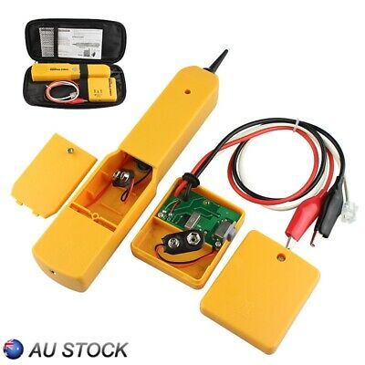 RJ11 Cable Finder Tone Generator Probe Tracker Wire Network Tester Tracer AU