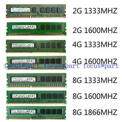 4GB 8GB DDR3 1333MHZ 1600/1866Mhz PC3 10600E 12800E 14900E ECC Memory UDIMM lot