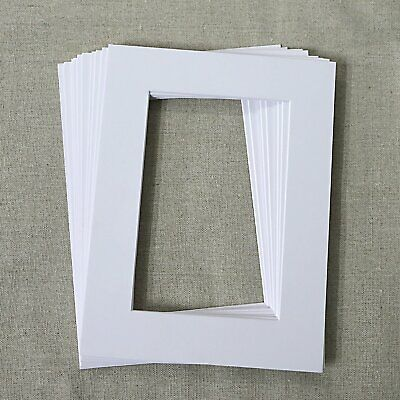Pack of 10 Photo , Picture Mount , Frame Mounts Size:6x8 inch- Fast & Free