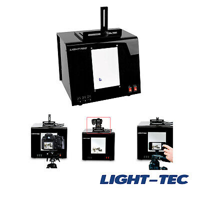 Light-Tec Professional 5,500K LED Shadow Free Photo Boxes for Smartphone or DSLR
