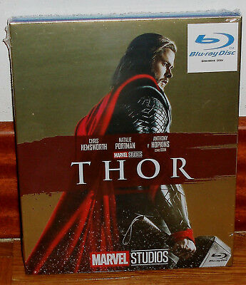 Thor Blu-Ray New Sealed Slipcover Cover Carton Action (Unopened) R2
