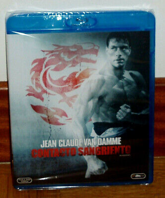 Contact Bloody Bloodsport Blu-Ray New Sealed Action (Unopened) R2