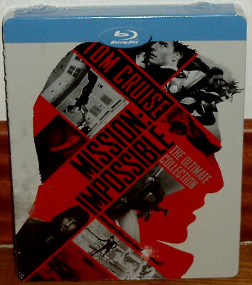 Mission Impossible Collection 5 Blu-Ray Steelbook Sealed New (Unopened) R2