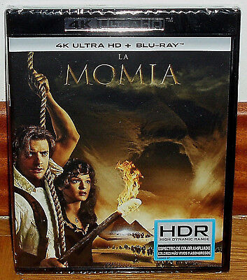The Mummy 4K Ultra HD + Blu-Ray New Sealed Action Adventure (Unopened) R2