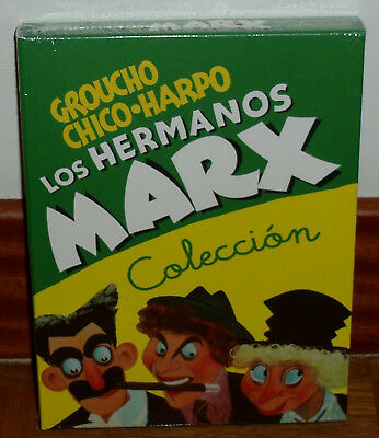 The Marx Brothers Collection Pack 5 DVD Brand New Sealed Comedy (Unopened) R2