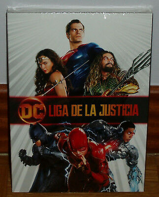 Justice League DVD Slipcover New Sealed Action Figure (Unopened) R2