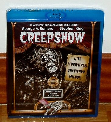 Creepshow Blu-Ray New Sealed Stephen King Horror Comedy (Unopened) R2