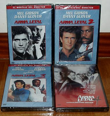 Lethal Weapon Four Complete 4 DVD Brand New Sealed Action Figure (Unopened) R2