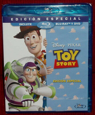 Toy Story Edition Special Combo Blu-ray+DVD Disney New Sealed (Unopened)