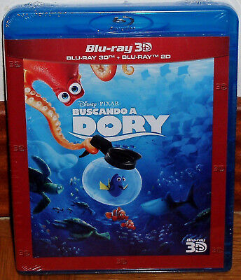 Finding Dory Dory Finding Combo Blu-Ray 3D + Blu-Ray New Disney Sealed R2
