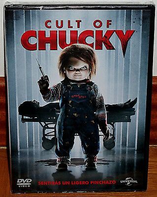 Cult of Chucky DVD New Sealed Horror Thriller (Unopened) R2