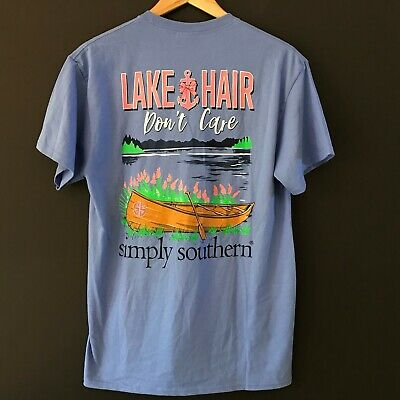 074ed32d NWT SIMPLY SOUTHERN Long Sleeve T Shirt Womens Jeep Hair Dont Care ...