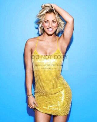 Actress Kaley Cuoco - 8X10 Publicity Photo (Dd478)