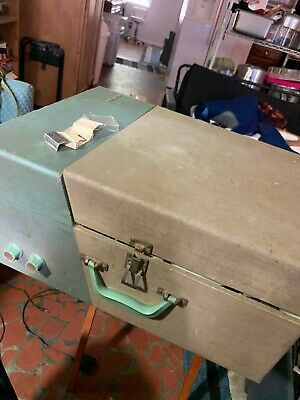 Vintage RCA Victor 45 33 78 rpm Record Player 6-ES-6h Parts Powers On That's All