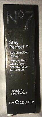 Boots No 7 Stay Perfect Eye Shadow Primer - 0.33oz Full Size / BRAND NEW BOXED