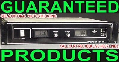 Power Ten P62B-30100 O-30V 100A Automated Burn-In Oven Test Dc Power Supply
