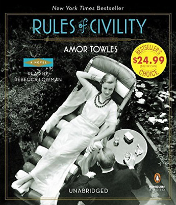 Towles Amor/ Lowman Rebecca...-Rules Of Civility (US IMPORT) CD NEW