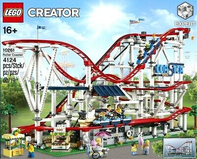 New In Box Official Lego Creator Roller Coaster 4124 Pcs. Factory Sealed Expert