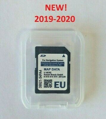 Suzuki SLDA Bosch SD card 2019/2020 Europe maps (new) sat nav