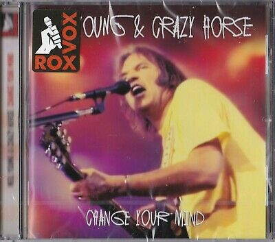NEIL YOUNG & CRAZY HORSE - Change your mind ( 2015 Cd / Brand new & sealed)