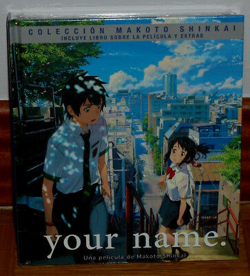 Your Name Edition Digibook Blu-Ray + Blu-Ray Bonus + Livre Neuf (sans Ouvrir) R2