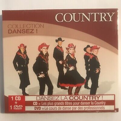 Collection dansez country cd+dvd neuf sous blister