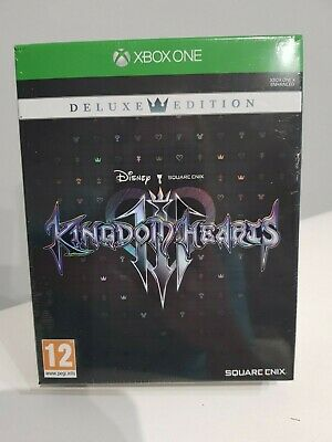 Kingdom Hearts 3 III Deluxe Edition NEW Xbox One Fast Free Post Birthday