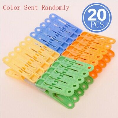 20Pcs Clips Laundry Folder Clothespin Quilt Windproof Clip Multifunctional
