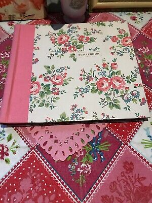 🌺Cath Kidston Beautiful Floral Scrapbook With Stickers Retired Design 🌺