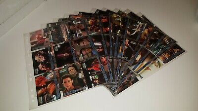 Star Trek: Moments From The Future Trading Card Base Set (Skybox, 1999)