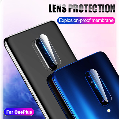 1X 2X 3X OnePlus 7 Pro Back Camera Lens Tempered Glass Screen Protector Guard