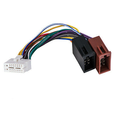 FOR CLARION 16PIN Stereo Radio Iso Wiring Wire Harness ... on