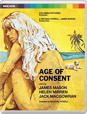 Age Of Consent (Limited Edition) (UK IMPORT) BLU-RAY NEW