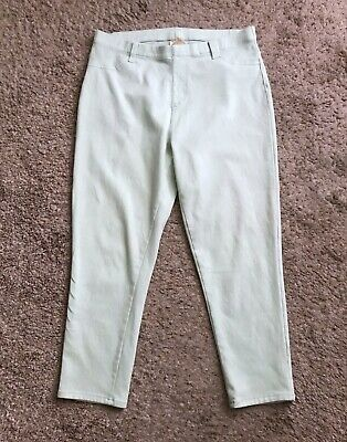 0ce7692a8bb9a FADED GLORY Womens Size Large (12-14) Green Pull On Jeggings Skinny Jeans